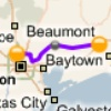Houston to Beaumont Dark Fiber Network